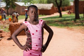 Will you help 14 year-old Eva from Tanzania demand a better world?